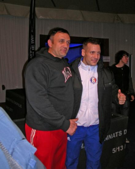Christophe et Benjamin Hennequin vice-champion du monde des - 85 kg