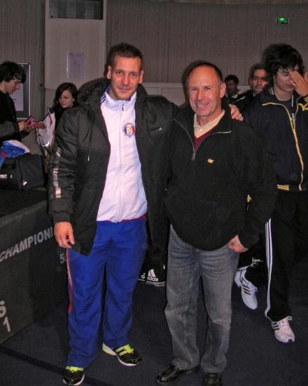 Benjamin Hennequin vice-champion du monde des - 85 kg et Daniel