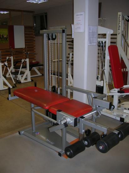 Machine quadriceps et ischios